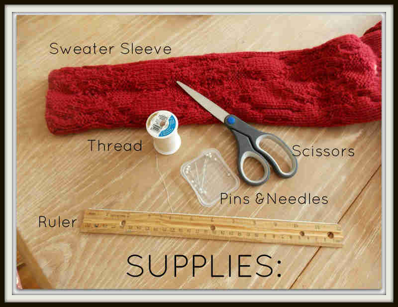Picture of Supplies Needed: