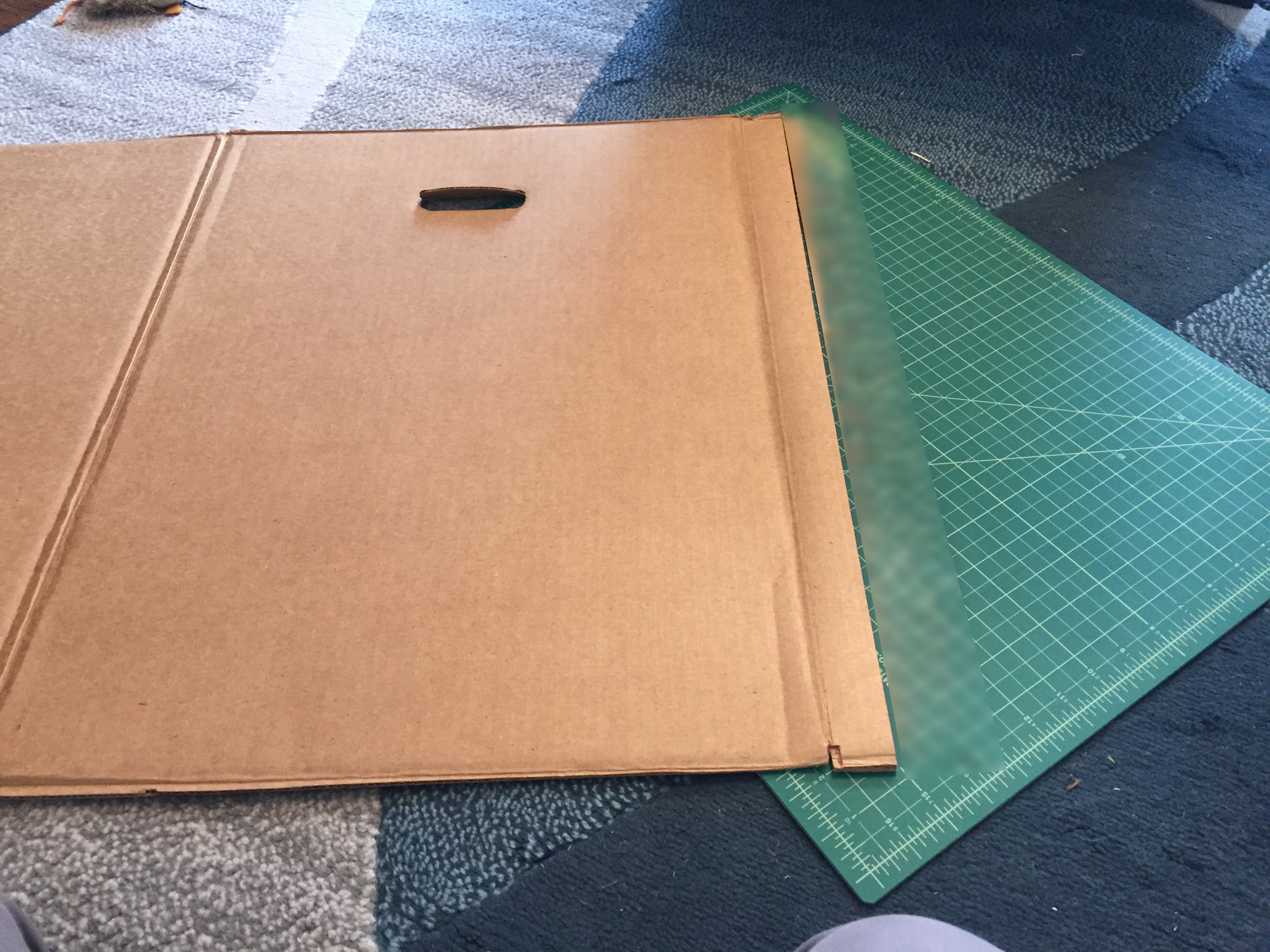 Picture of Resize Box (A) – Cut Box Open