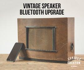 Bluetooth Vintage Speaker Upgrade
