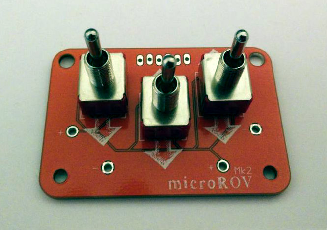 Picture of Solder the Switches to the PCB