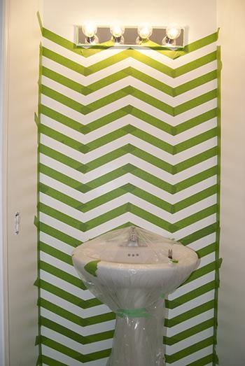Picture of Chevron Bathroom
