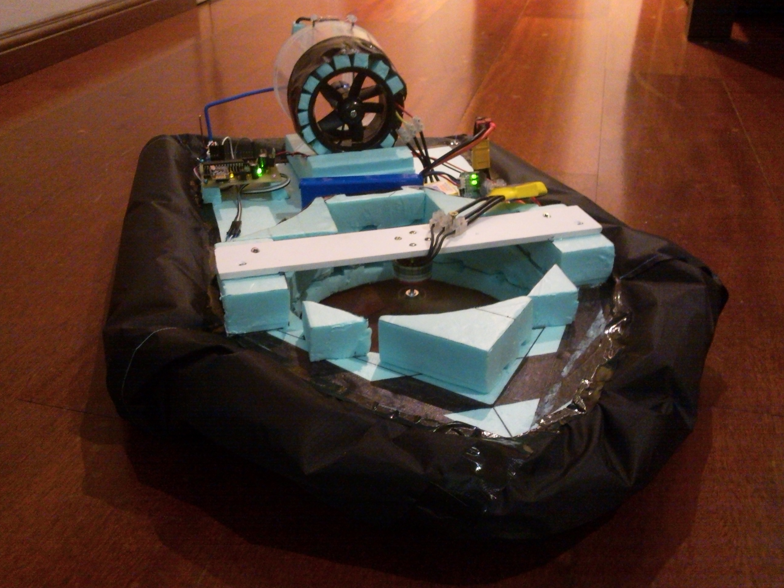 Picture of RC Hovercraft + Customized Remote Control