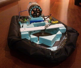 RC Hovercraft + Customized Remote control