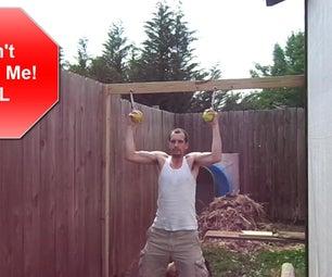DIY Softball Pull Up Grips