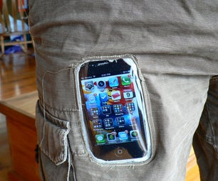 IPhone Window Pocket (or Is It a Shorts-shaped Case)