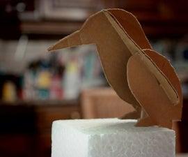 Cardboard Kingfisher