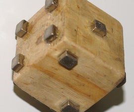 Magnetic random number generator for your fridge!!   (Die)