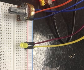 LED Dimmer With Potentiometer