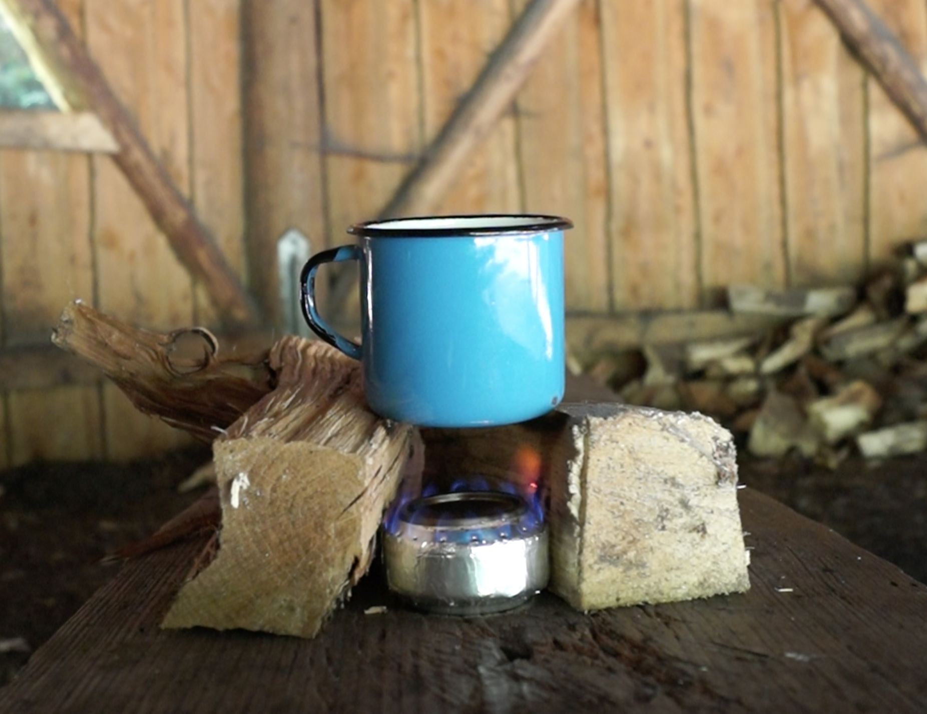 Picture of DIY Can Stove Tomato Soup