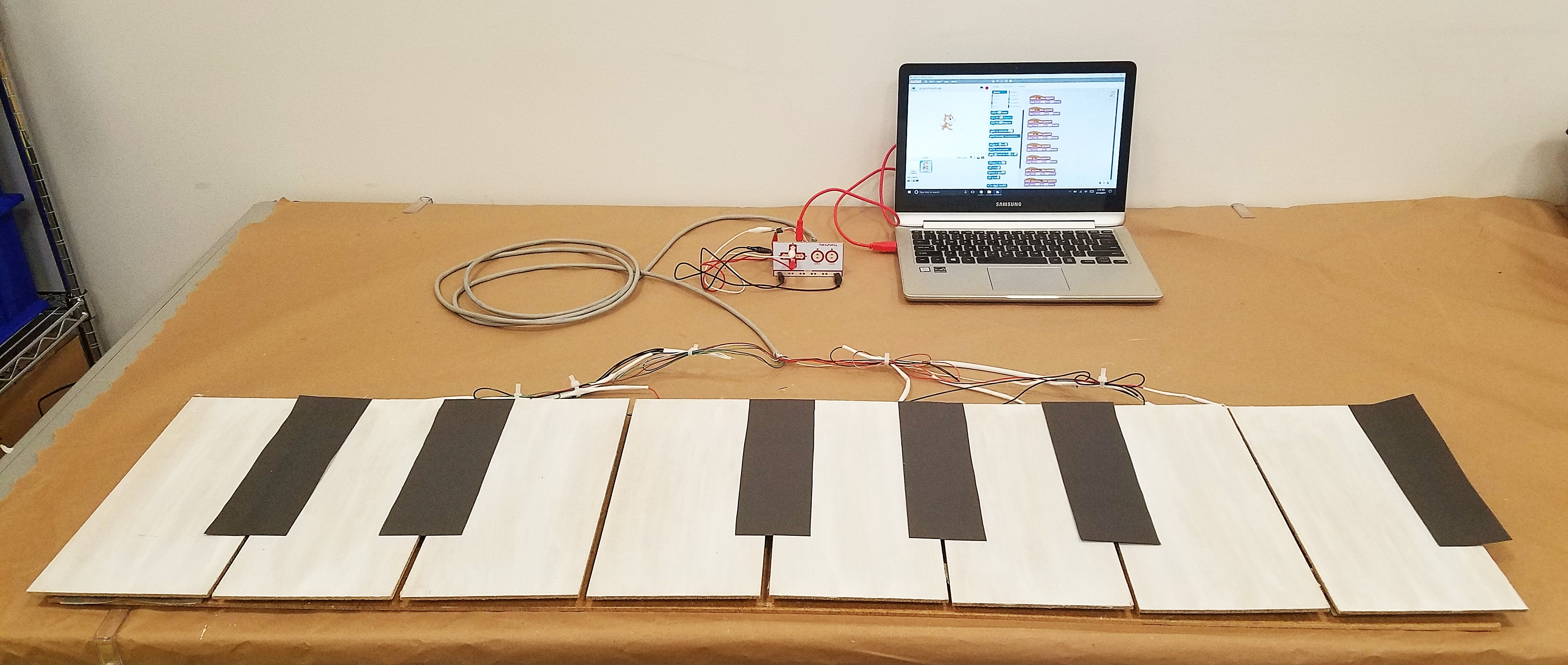 Picture of Build an (Easy) Floor Piano!