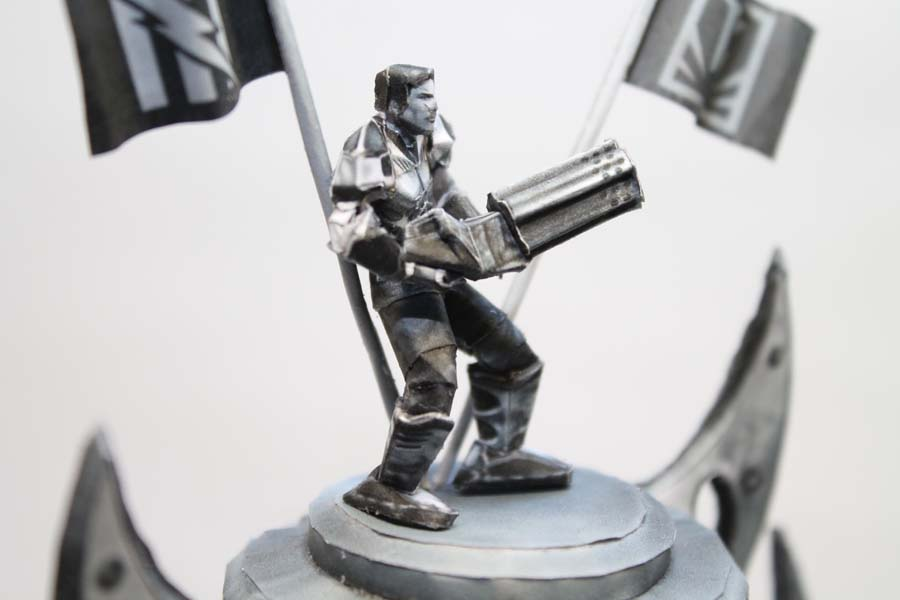 Picture of Unreal Tournament Trophy Papercraft