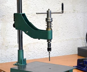 Manual Thread Tapping Machine