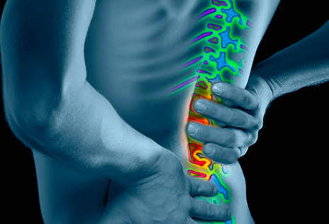 Picture of Back Pain.   Ouchhh