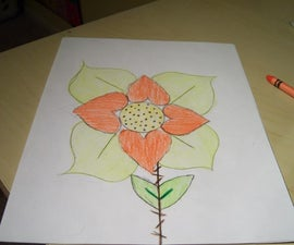 How to Draw a Love Flower