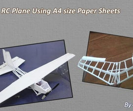 Make RC Planes Using A4 Size Papers