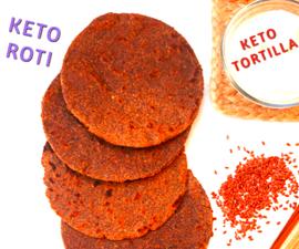 KETO ROTI (KETO CHAPATI)   INDIAN KETO RECIPE   5-Minute Kitchen