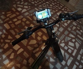 Low Cost Bicycle Mobile Phone Mount Using (Old Deodorant Bottles)