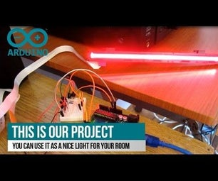 Control Scanner Light With Arduino