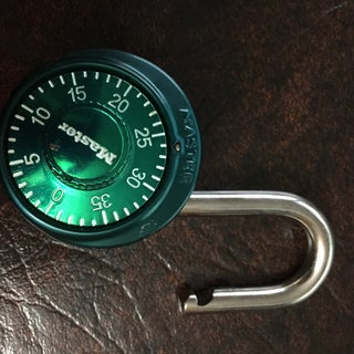 Cracking Single Dial Combination Locks
