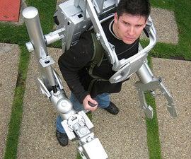 Exoskeleton S.P.D. (Sistema Personal de Demolicion or Demolition Personal System)
