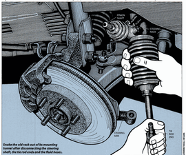 How to Replace a Steering Rack