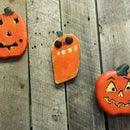 Carving Jack-O-Lanterns from scrap wood