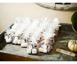 DIY Smores Wedding Favors! Yum!