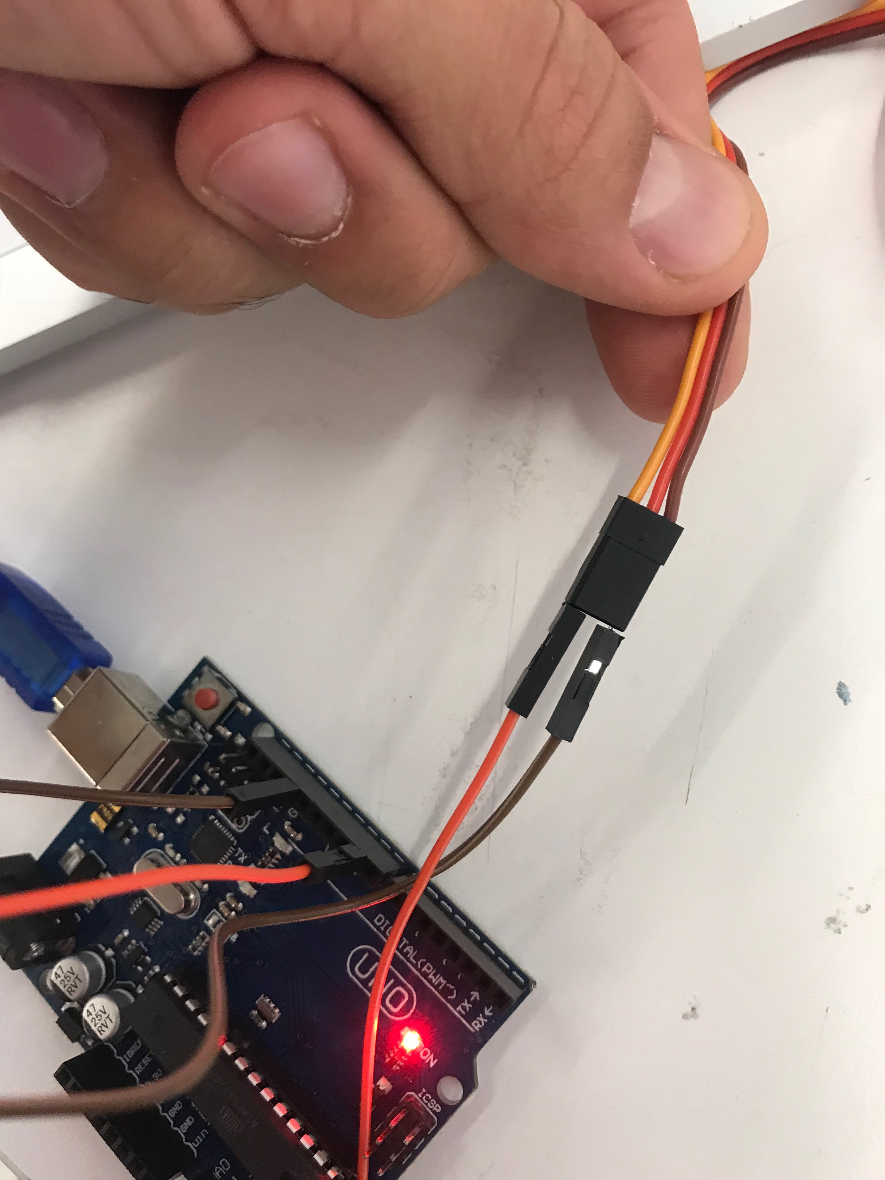 Picture of ESC CONNECTION AND MOTOR