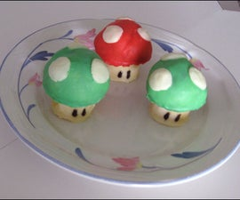 Super Mario Mushroom Cookies