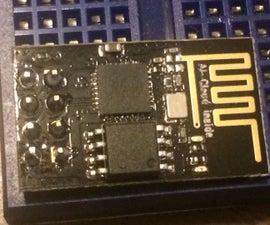 Using ESP8266-01 for temp monitoring