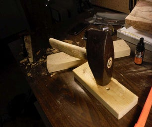 Make a Handle for an Antique Hammer