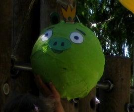 "Easy Angry Birds ""Pig"" Pinata"