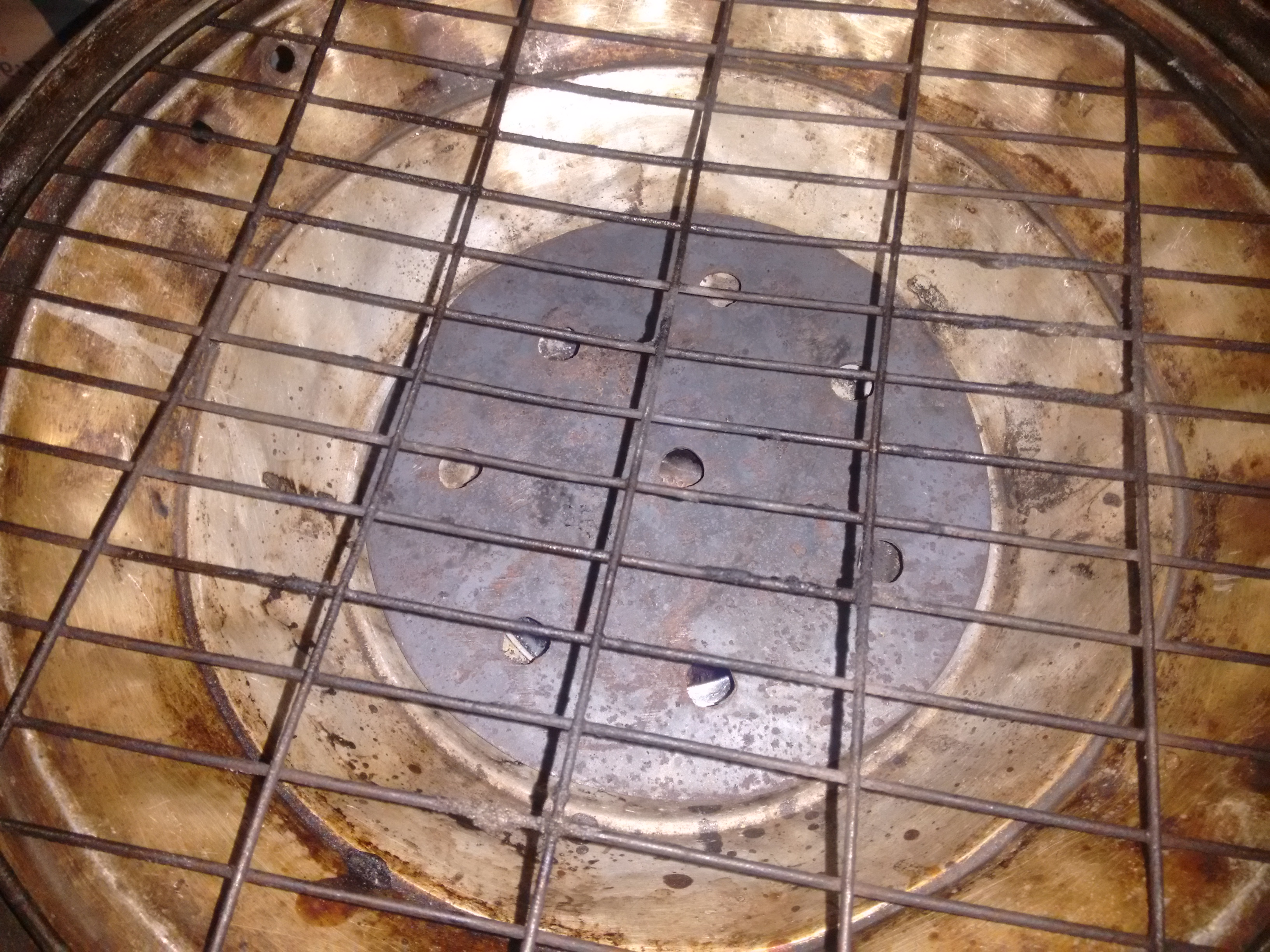 Picture of Place Dough on Tray/grill
