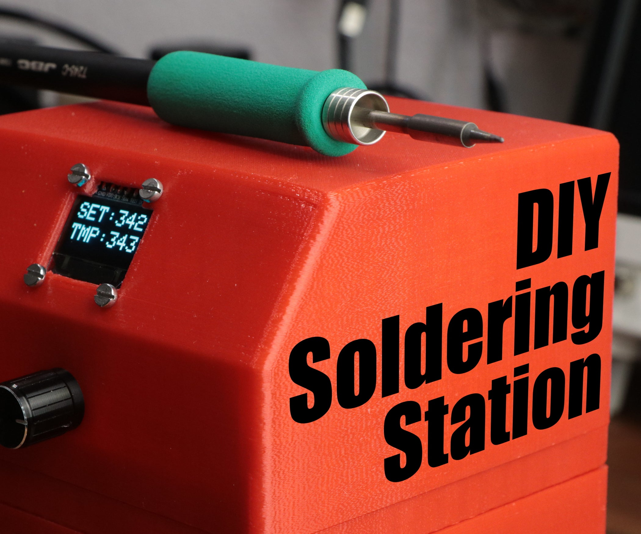 Diy Arduino Soldering Station 6 Steps With Pictures How To Build Temperature Controlled Iron