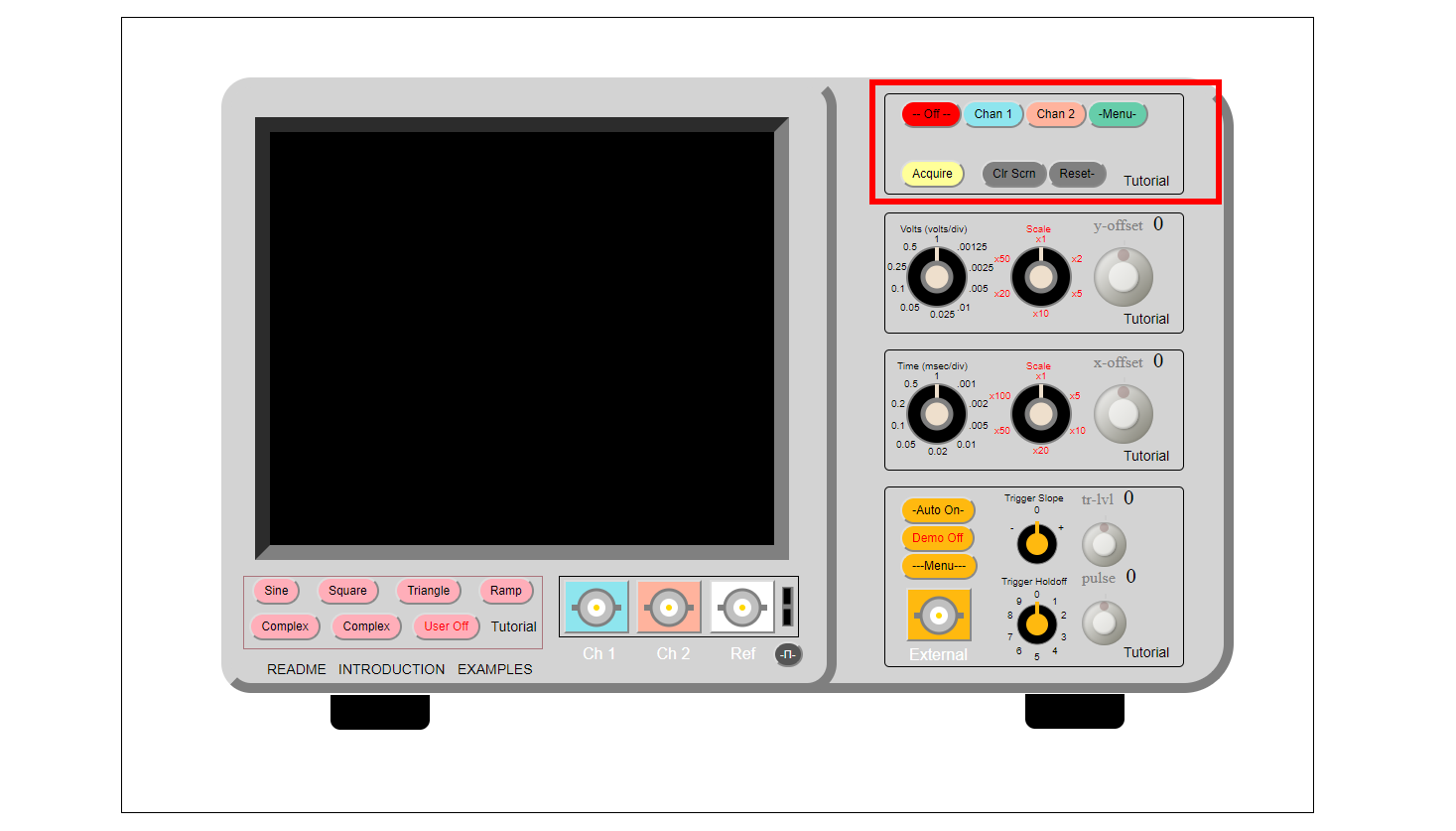 Picture of Display Controls