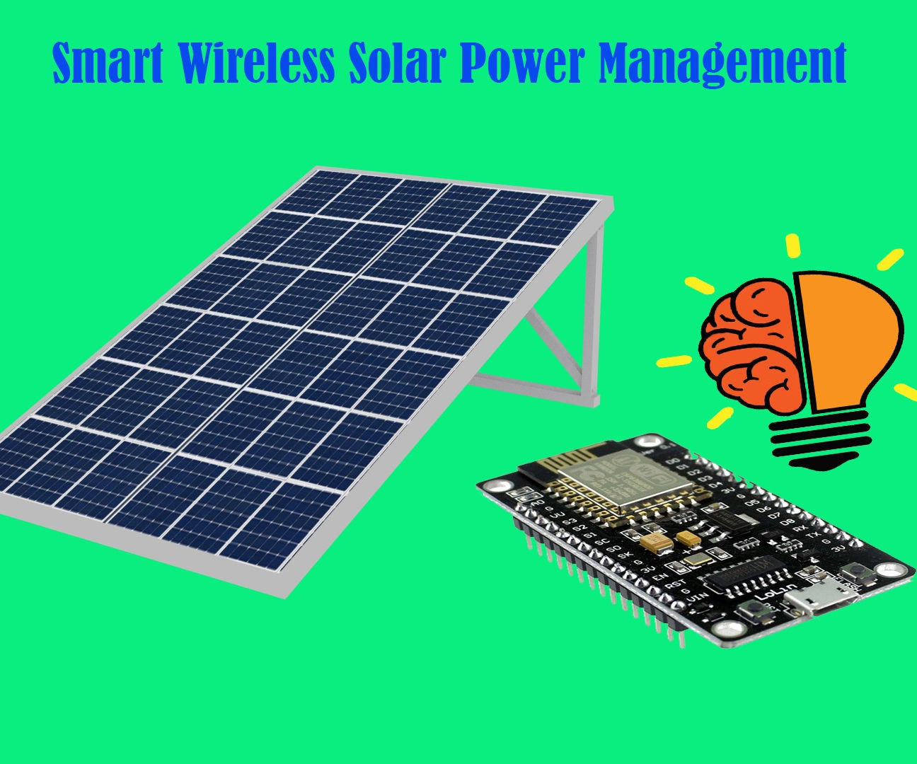 Smart Wireless Solar Power Management 9 Steps Tracker Relay Circuit Using Arduino