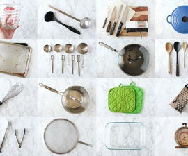 Tools and Supplies for Cooking