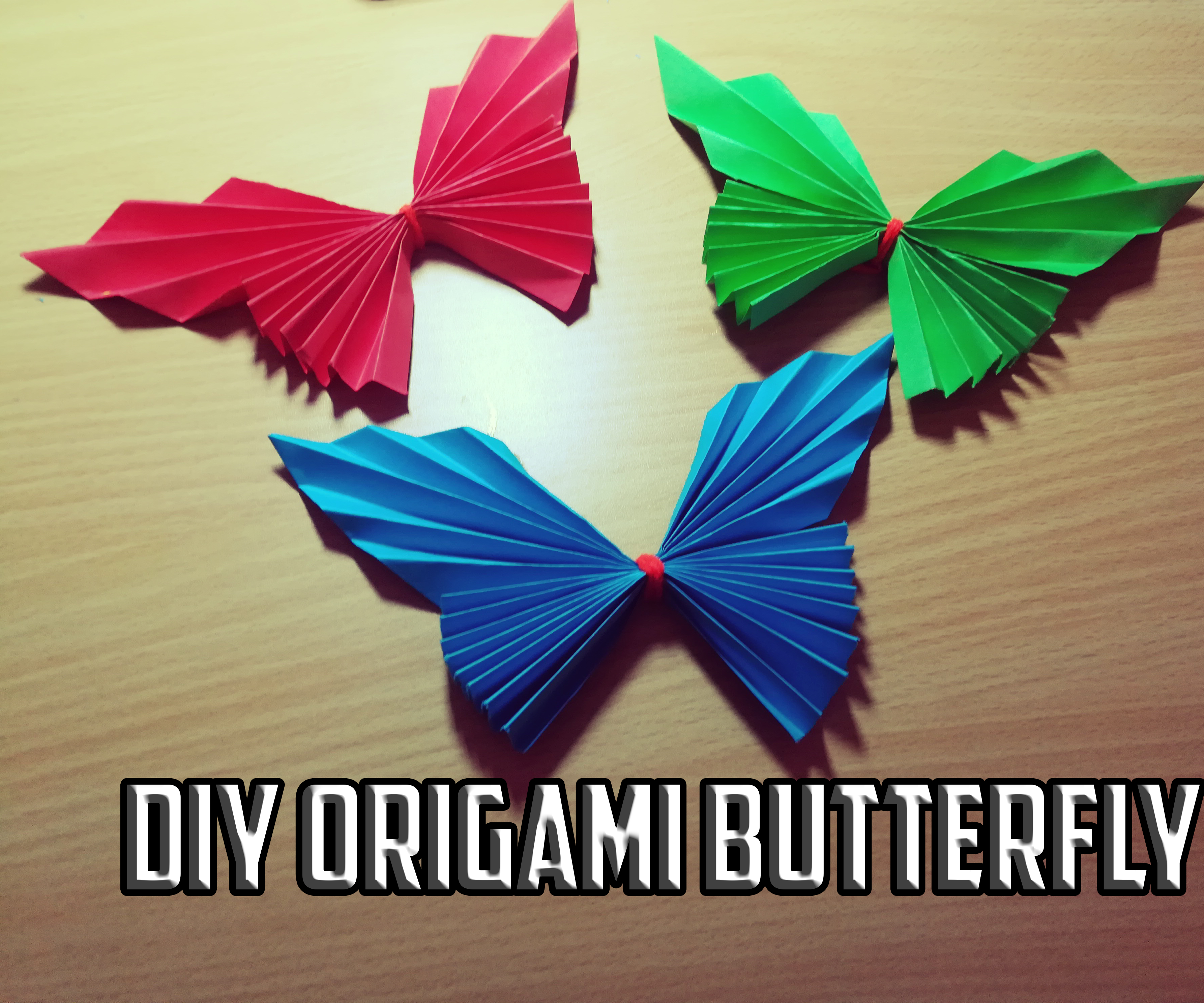 Origami Butterfly (Folding Instructions) - YouTube   2976x3571