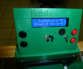 Arduino Foosball Scoreboard  ( Sensor  IR Led )
