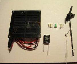 Solar Engine Demo Using the RFD88A Energy Harvesting Engine Module