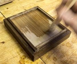 Food-Safe Wood Finish With Shellac (+ Bee's Wax / Walnut Oil)