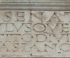 """How to Make """"Engraved Stone"""" Letters in Concrete"""