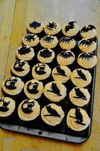 Haunted Pumpkin Patch Cupcakes