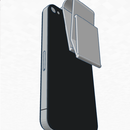 "Iphone ""Backpack"" 3d money clip"