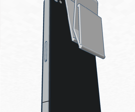 """Iphone """"Backpack"""" 3d money clip"""