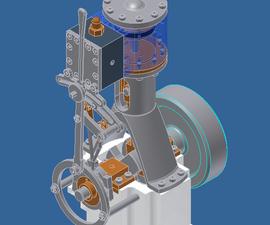 Small Steam/Air engine