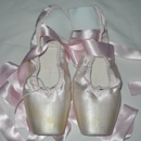 Sew Elastics and Ribbons on Pointe Shoes