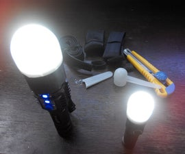 Flashlight diffuser.