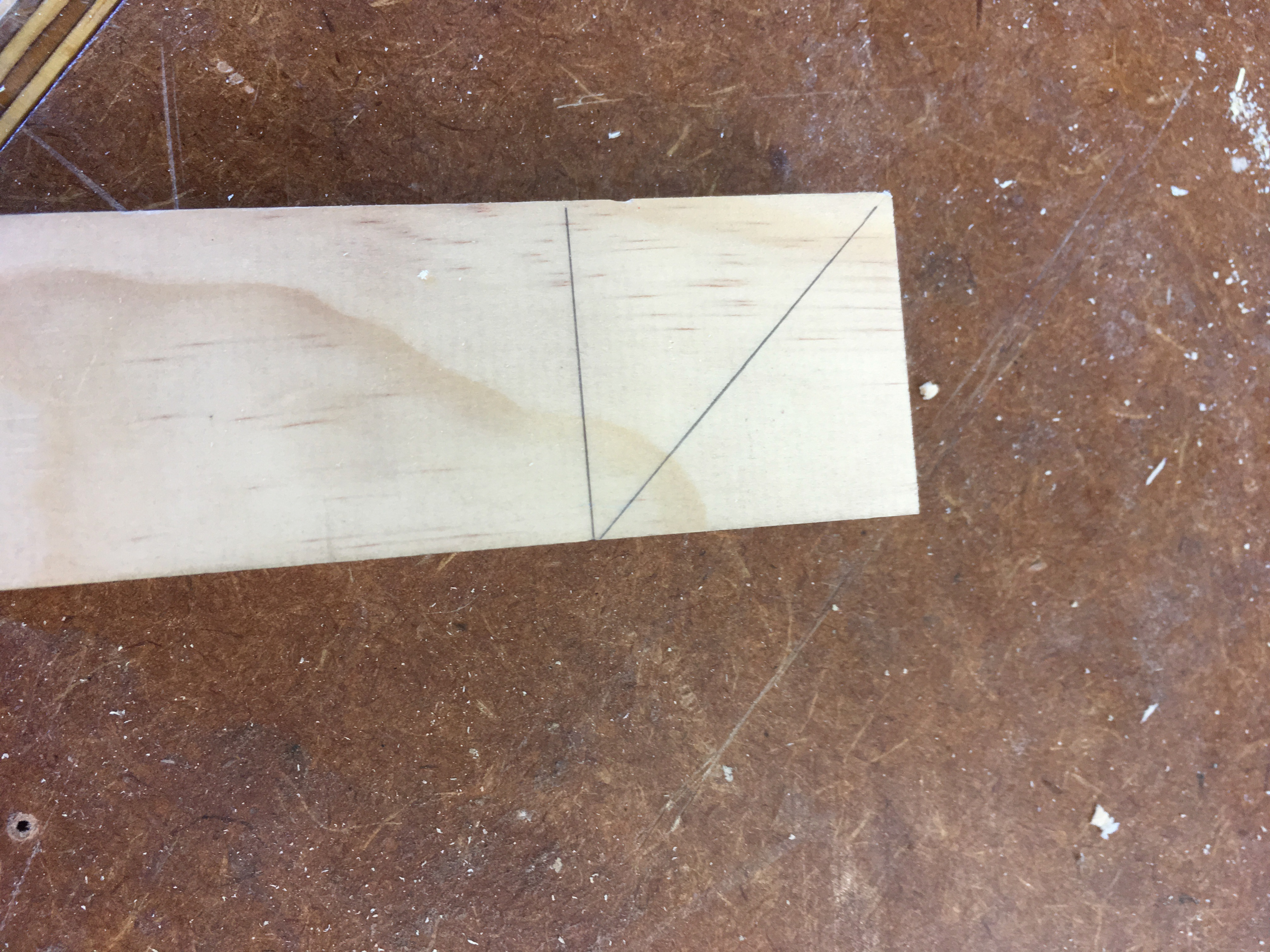 Picture of Mitered Corner Halving Joint
