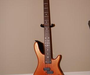 DIY Bass Guitar Paint Job